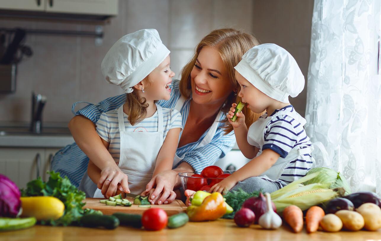 Dicas de alimentação saudável na infância